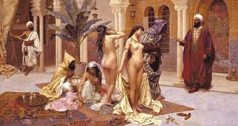 আরবে নারী কেনাবেচা