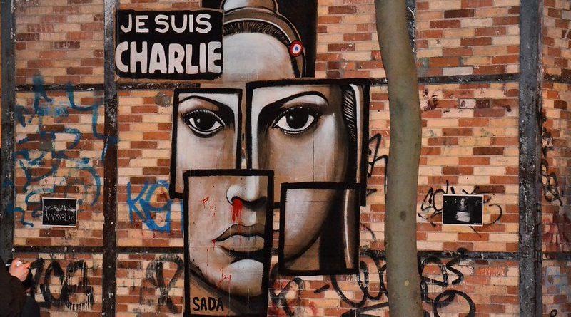 Je suis Charlie, boulevard de Charonne, Paris