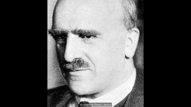 The English geneticist J. B. S. Haldane